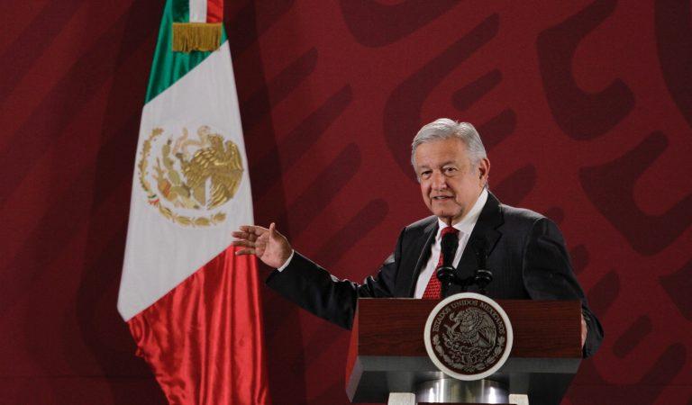 Celebra López Obrador luz verde a revocación de mandato
