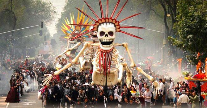¿Cuándo es el Desfile del Día de Muertos en CDMX?