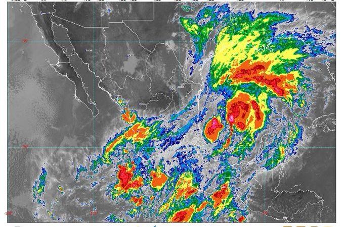 SMN pronostica lluvias en oriente, sur y sureste de México