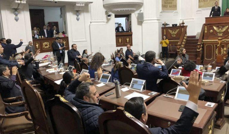 Diputados aprueban Presupuesto 2020 de la Ciudad de México