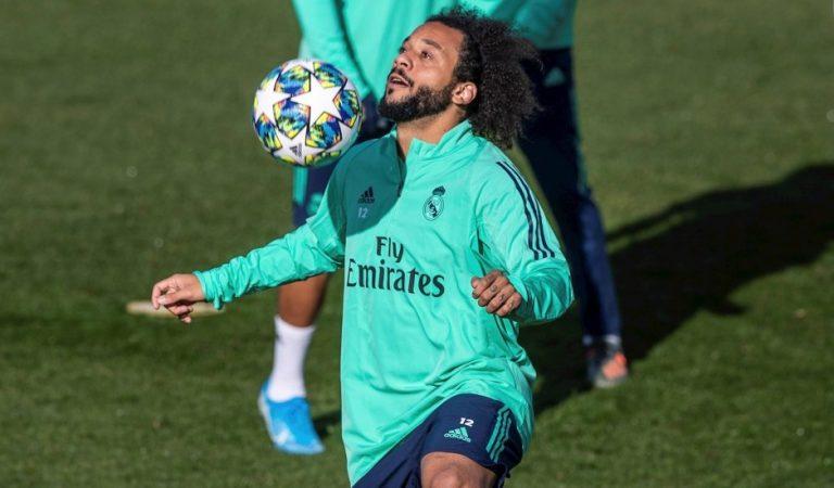 Marcelo sufre lesión en la pierna izquierda y se perderá el Clásico