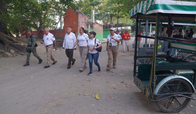 Supervisó comisionado de migración despliegue de agentes en frontera sur