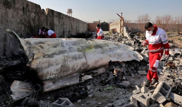 Irán enviará las cajas negras del avión derribado a Ucrania