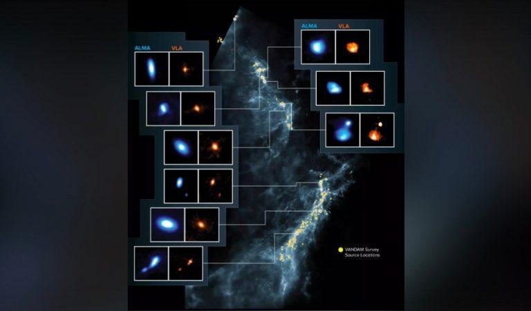 Descubren más de 300 discos protoplanetarios en las nubes de Orión