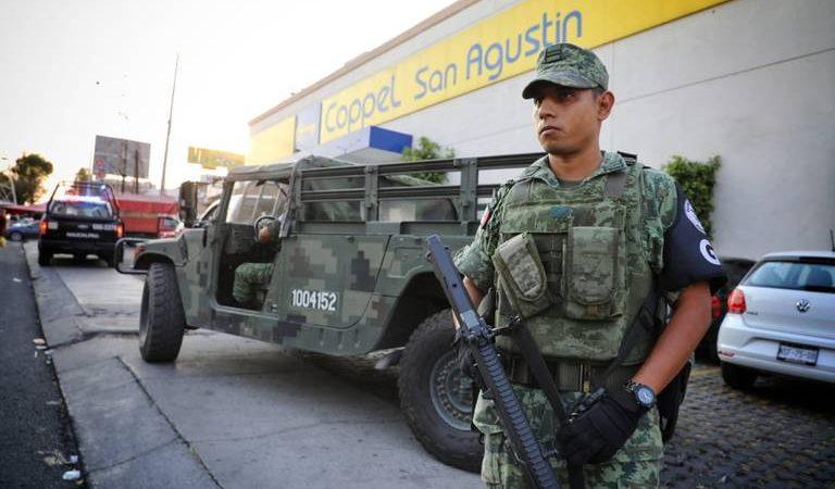 Guardia Nacional apoya en patrullajes en el valle de México