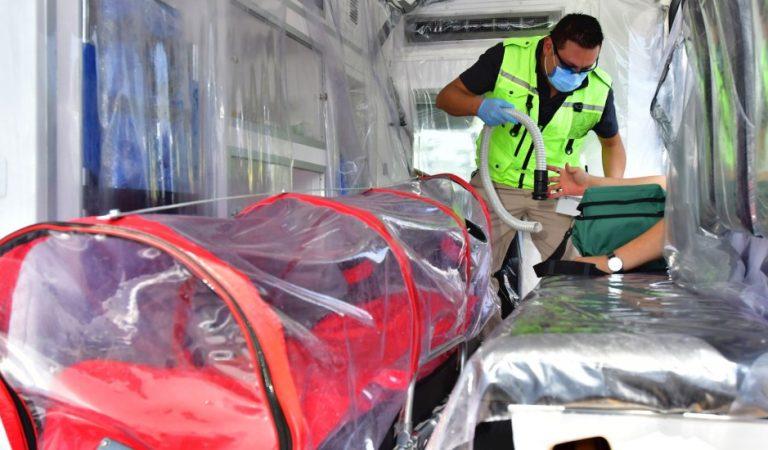 México rompe la barrera del medio millón de casos y 55 mil muertes por COVID-19