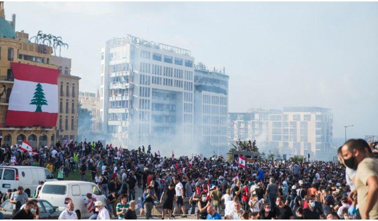 Miles de libaneses condenan a la clase política tras explosión en Beirut