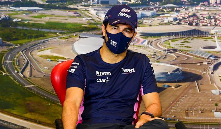 Hamilton gana la 'pole position' en Rusia; Sergio Pérez saldrá cuarto