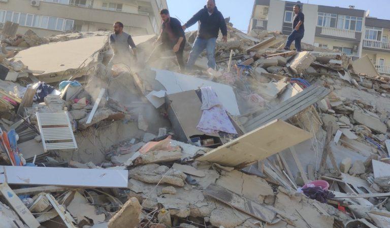 Fuerte sismo sacude Turquía y Grecia
