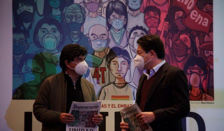Morena busca ganar Nuevo León con triple alianza: Delgado