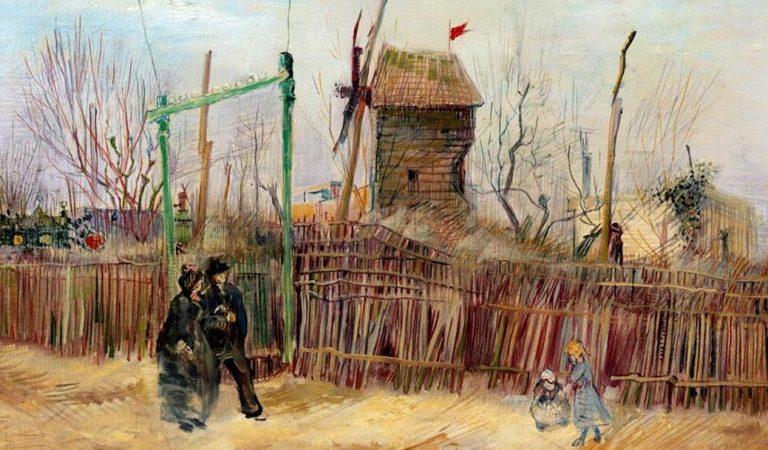 """Tras un siglo oculto, """"Escena de calle en Montmartre"""", de Van Gogh, se subastará en 9.7 mdd"""
