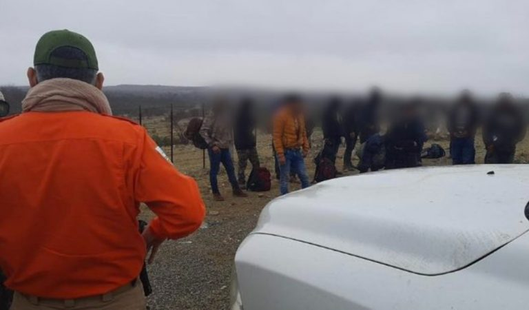 Rescatan a 16 migrantes, la mayoría centroamericanos, en Coahuila