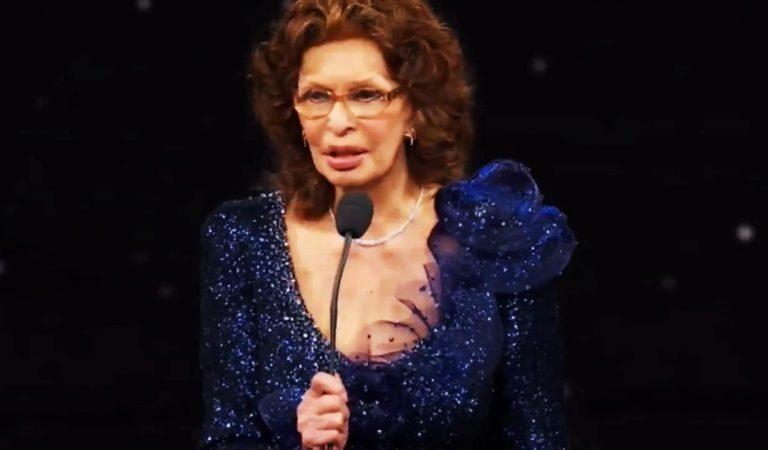 Sophia Loren gana el David de Donatello como mejor actriz