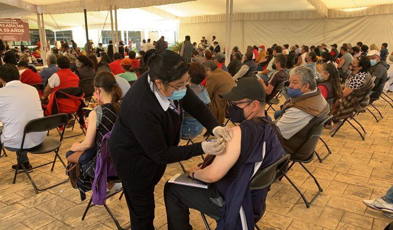 Metepec avanza ordenadamente en Jornada de Vacunación vs COVID-10