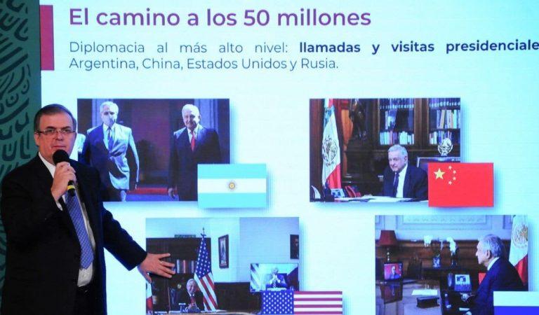 México donará esta semana vacunas COVID-19 a otros cinco países de Centroamérica: Ebrard