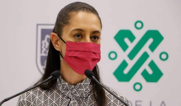 Claudia Sheinbaum supervisa trabajos de reforzamiento en Metro Pantitlán