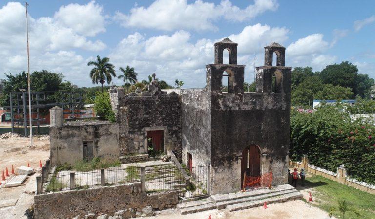 Hallan cimientos de cuartel militar y templo en Pisté, Yucatán