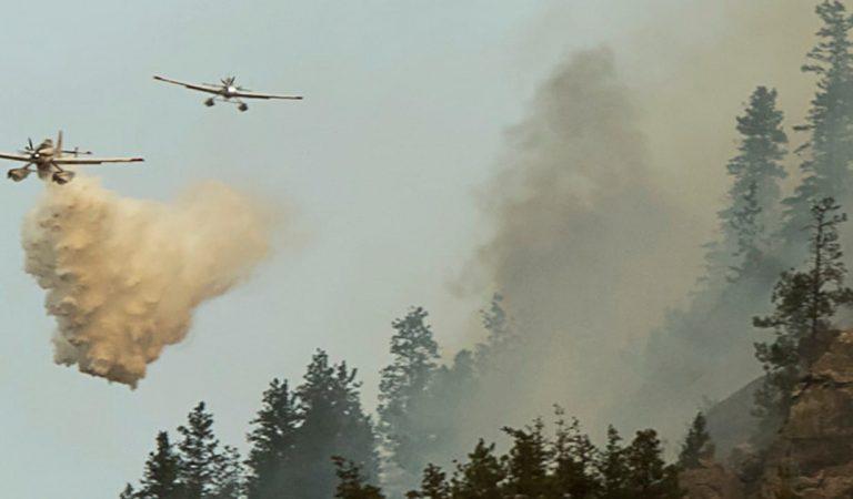 México envía más de 100 bomberos para combatir incendios forestales en Canadá