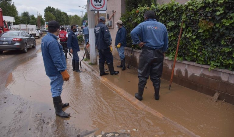 CAEM termina limpieza de viviendas y calles de Chalco