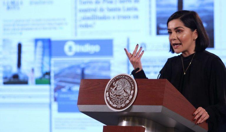 Falsa, supuesta inclinación de la Torre de Control del nuevo aeropuerto de Santa Lucía: García Vilchis