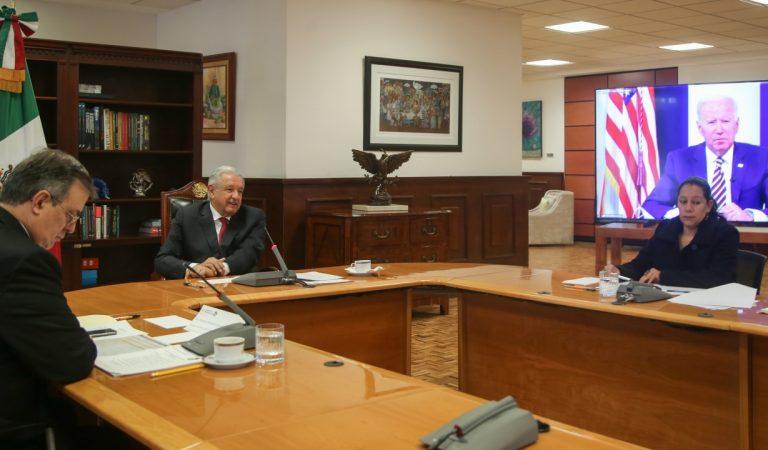AMLO participa en el foro sobre energía y cambio climático convocado por Biden