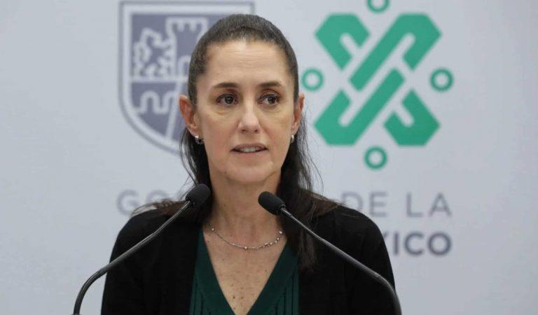 Sheinbaum realiza cambios en el gabinete del Gobierno de CDMX