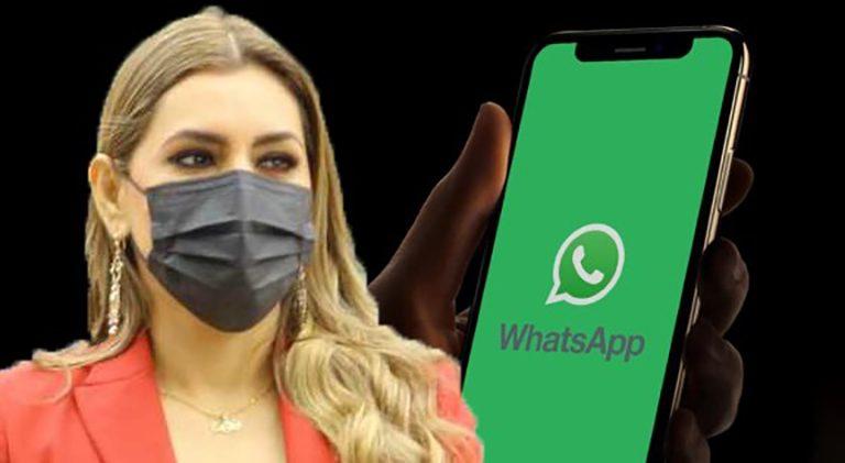 """Evelyn Salgado acusa que cuenta de WhatsApp fue """"vulnerada para fines de extorsión"""""""