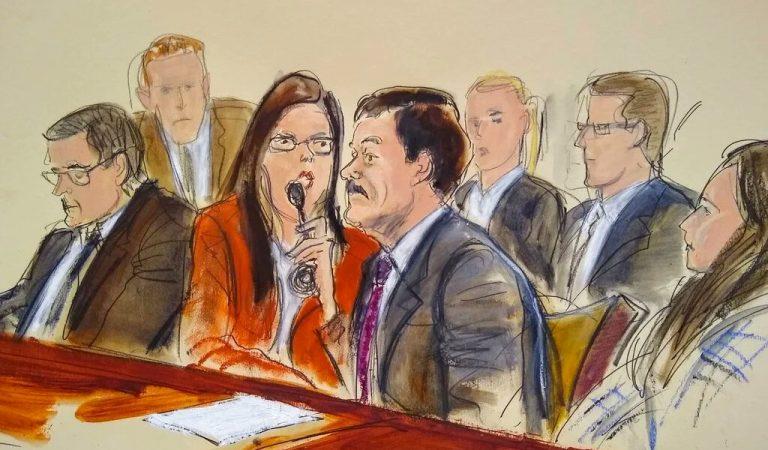 """""""El Chapo"""" presenta argumentos en apelación para eliminar cadena perpetua en su contra"""