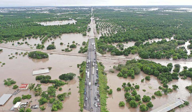Nayarit se encuentra en estado de emergencia por las inundaciones que dejó 'Pamela'