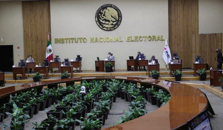INE acuerda destrucción de material utilizado en elecciones del 6 de junio